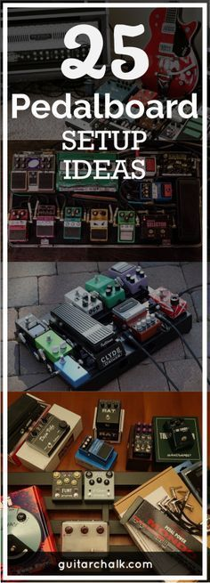 25 pedalboard setup ideas and wiring inspiration. https://www.guitarchalk.com/pedalboard-setup-ideas/