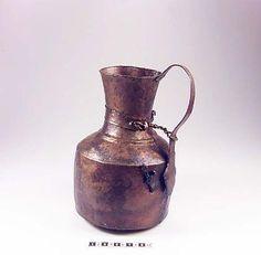 Copper jug from Birka. In the Historiska Museet, Stockholm.