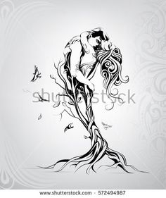 Find Silhouette Lovers Tree stock images in HD and millions of other royalty-free stock photos, illustrations and vectors in the Shutterstock collection. Thousands of new, high-quality pictures added every day. Tattoo Sketches, Art Sketches, Art Drawings, Tattoos For Lovers, Mermaid Tattoos, Couple Art, Couple Tattoos, Love Art, Body Art Tattoos