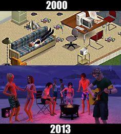 :) Sims Memes, Funny Memes, Hilarious, Jokes, Sims Humor, Classic Video Games, Retro Video Games, Grand Theft Auto, Nostalgia