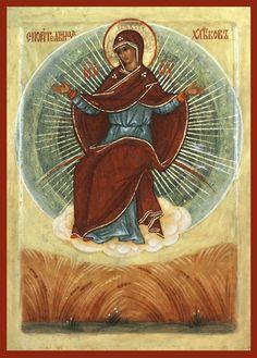 Theotokos Ripener of Wheat icon, The Holy Transfiguration Monastery Store