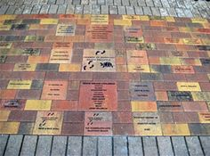 Playground Fundraising Commemorative Brick Flyer