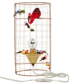 Mini Volière Bird Cage Table Lamp, Mathieu Challières@Liberty
