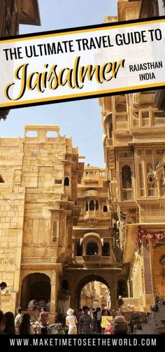 There are so many incredible things to do in Jaisalmer. Known as the Golden City because of the Havelis carved into golden yellow sandstone, this UNESCO Heritage Hill Fort, also offers unrivaled access to some of the most incredible desert and camel safaris in India alongside temples, ghost towns and royal cenotaphs.