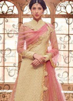 Suave Long Choli Lehenga For Bridal