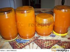 Marmeláda z mrkve Baby Food Recipes, Low Carb Recipes, Marmalade Jam, Homemade Jelly, Home Canning, Vegetable Drinks, Healthy Eating Tips, Sourdough Bread, Quick Bread