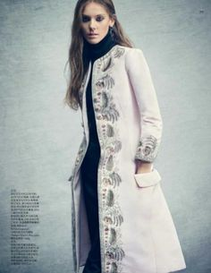 Luxe Redux: Phillipa Hemphrey in Dior Fall 2014 Couture for Vogue China November 2014