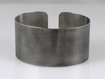 Canvas - metal bracelet