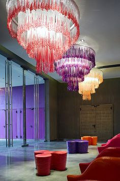 Nhow - Milan hotel design - Expolore the best and the special ideas about Hotel interiors Restaurant Hotel, Nh Hotel, Restaurant Lighting, Hotel Lobby, Restaurant Design, Grand Hotel, Commercial Design, Commercial Interiors, Milan Hotel