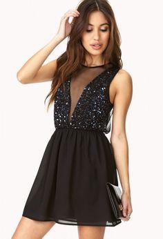 Maravillosos vestidos cortos de noche para fiesta | Especial vestidos de noche