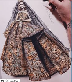 Lord of mercy, the things have to change! Fashion Illustration Dresses, Fashion Sketches, Fashion Illustrations, Textile Pattern Design, Textile Patterns, Churidar Neck Designs, Love Illustration, Beautiful Gowns, Fasion