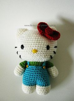 Hello Kitty -overalls by kae_, via Flickr