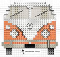 hancock's house of happy: Groovy! This VW Van Cross Stitch Chart Invites You to Come Knockin' hancock's house of happy: Groovy! This VW Van Cross Stitch Chart Invites You to Come Knockin' Cross Stitching, Cross Stitch Embroidery, Embroidery Patterns, Knitting Patterns, Cross Stitch Charts, Cross Stitch Designs, Cross Stich Patterns Free, Cross Stitch Letters, Heart Patterns