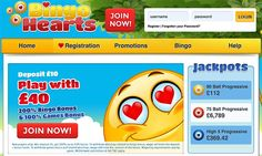 Bingo Hearts is the place to play Bingo with a matching deposit bonus up to £200 on the very first deposit.  https://www.thebingoonline.com/sites/bingo-hearts/
