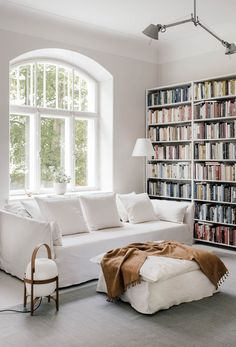 a spot filled with books