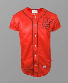 Sik Silk Red Blood Baseball Jersey #SikSilk