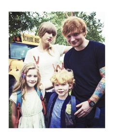 mini taylor and mini ed from everything has changed. They look like a family X3