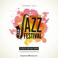affiche du festival de Jazz