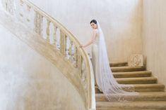The Best Places To Buy Bridal Veils | OneFabDay.com Short Veil, Wedding Veils, Bridal Veils, Lace Veils, Elegant Bride, Bridal Hair Accessories, Bridal Style, Pure Silk, Silver Beads