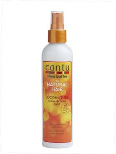 Cantu Shea Butter For Natural Hair Coconut Oil Shine & Hold Mist 8.4 Ounce - Love this mist for my curls! I use it as a refresher for 3-4 day old hair!