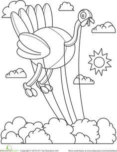 Color The Turkey Balloon Thanksgiving WorksheetsThanksgiving Coloring PagesThanksgiving