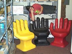 Hand Chair  -  www.ultimatemancaveshop.com