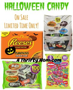 Halloween Candy On Sale - Limited Time Only #HalloweenCandy #TrickOrTreat