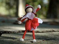 Miniature Elf on the Shelf (Girl) doll by Casey's Creative Corner on Etsy ($10.00)