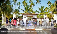 NOW Larimar Punta Cana - not my favorite wedding venue, but it's ok.  destinationweddings.com