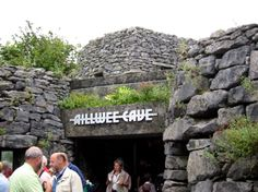 Ailwee cave Gift Shop. Look familiar, Father Ted fans??