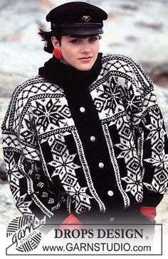 Nordic - Free knitting patterns and crochet patterns by DROPS Design Knitting Designs, Knitting Patterns Free, Free Knitting, Free Pattern, Crochet Patterns, Nordic Pullover, Nordic Sweater, Drops Patterns, Star Patterns