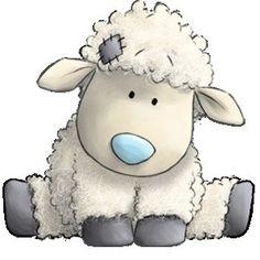 cute sheep drawings | Cottonsocks the Sheep…