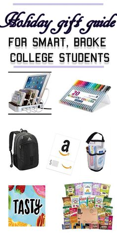 The Holiday Gift Guide for Smart and Broke College Students  sc 1 st  Pinterest & Gift Guide for College Guys | Ideas for Graduation and College ...