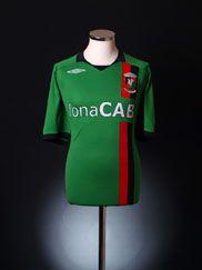 2008-09 Glentoran FC Away Shirt XXL