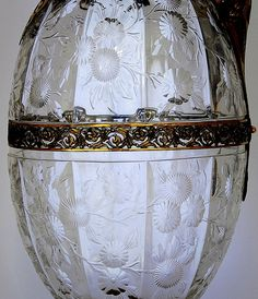 Glass made by Stevens & Williams, Stourbridge, to a design by John Orchard