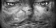 Alienation: Upside-Down Portraits Make People Look Like Aliens | Bored Panda