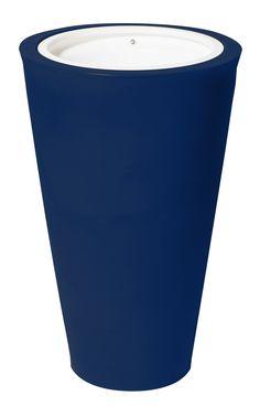 Pot Amphor Diamètre 650 x H 1000 mm Bleu Cobalt - Decouvrez tous nos produits Poterie de Jardin sur notre site - LeKingStore