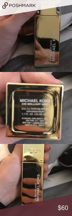 Michael Kors 24K brilliant gold Parfum Brand new Michael Kors 24K brilliant gold Eau De Parfum spray 1.7 fl oz. brand new, never used and less than a month old. No box Michael Kors Other