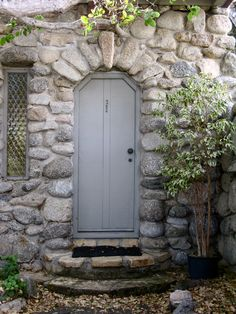 After 20 years in Carmel, I am still enchanted by the architecture. Hugh Comstock, inspired by the Fairytale Illustrations of Arthur Rackham, is credited with starting the Fairytale Cottage style i… Guest House Cottage, Cottage Door, Cute Cottage, Cottage Exterior, Cozy House, Tudor Cottage, Guest Houses, Cozy Cabin, Storybook Homes