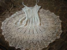 Mohair knitted dress Vogue