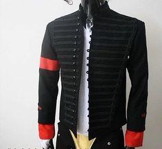 MICHAEL JACKSON MTV AWARDS JACKET MILITARY MJ PARTY COSTUME in Music, Music Memorabilia, Artists/ Groups | eBay! Michael Jackson Merchandise, Michael Jackson Quotes, Jackson Family, 3d T Shirts, Beautiful Person, Suit Fashion, Military Fashion, Dream Dress, Mj