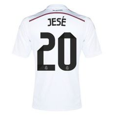 Real Madrid Home Jersey (Official Adidas) with Jese 20 - Size Large fec073c1ca