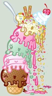 kawaii icecream http://sweetbox.storenvy.com