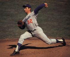 sandy koufax of the los angeles dodgers becomes first major league pitcher to win four no-hitters,1965