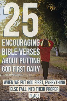 When we put God first, everything else fall into their proper place