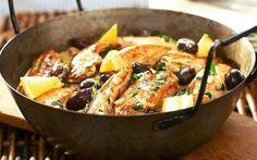 SITRUUNAKANA  Herkullinen sitruunakana on helposti ja nopeasti syntyvä ruoka arkeen. Tarjoile pataruoka riisin kera!