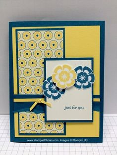 MOJO242  Betsy's Blossoms, Teeny Weeny Wishes, Stampin' Up!