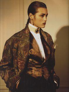 tapestry jacket.. Ralph Lauren 1985