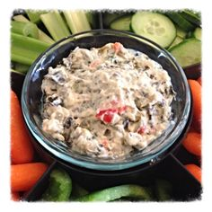 Low Fat Low FODMAP Spinach Dip Recipe.