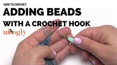 Learn how to crochet with photo and video tutorials at Free Crochet Tutorials! This video tutorial teaches you how to add beads with a crochet hook. Crochet Braids, Picot Crochet, Crochet Doily Rug, Crochet Snowflake Pattern, Crochet Stitches Patterns, Bead Crochet, Crochet Flowers, Crochet Hooks, Free Crochet